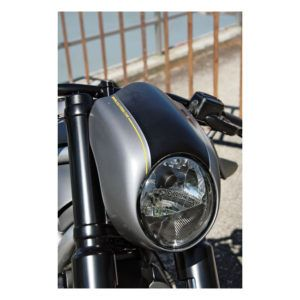 CULT-WERK HEADLAMP VISOR/FAIRING, ABS